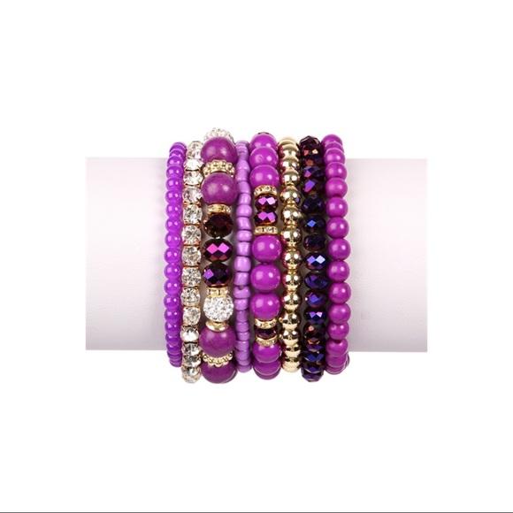 Jewelry - 👛ARRIVED👛Purple bracelet set